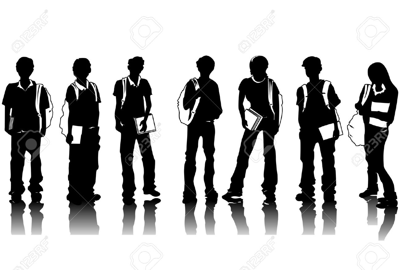 Crowd clipart group student Student Free Clipart Free Art