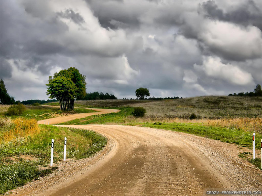 Highway clipart gravel road – Background Country Background Road