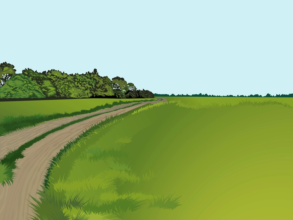 Road clipart country road #2