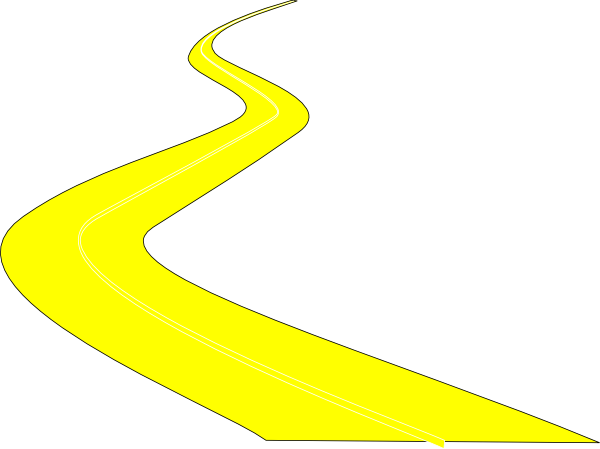 Curve clipart winding path #9