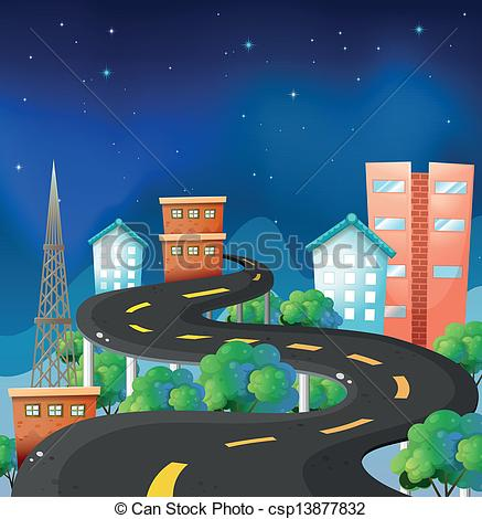 Curve clipart journey road Curve city of of road