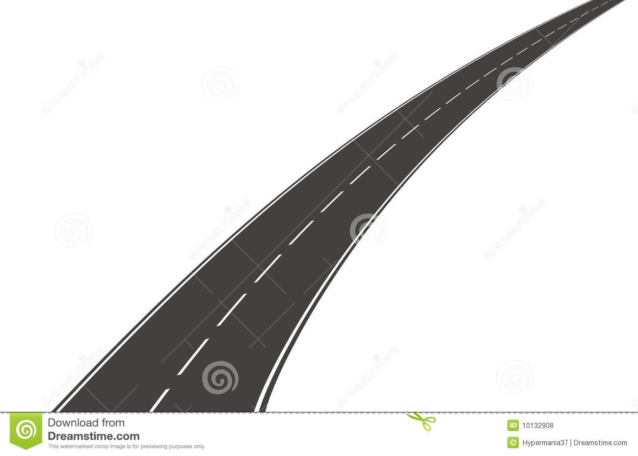 Pathway clipart curved street Kid clipart City png collections