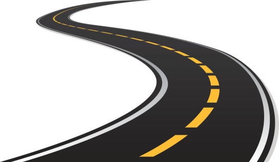 Highway clipart windy road #3