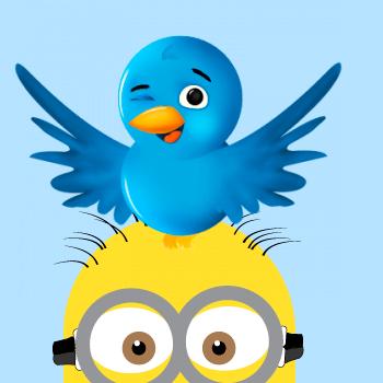 Pathway clipart far away Twitter: Bird Bird  Minion