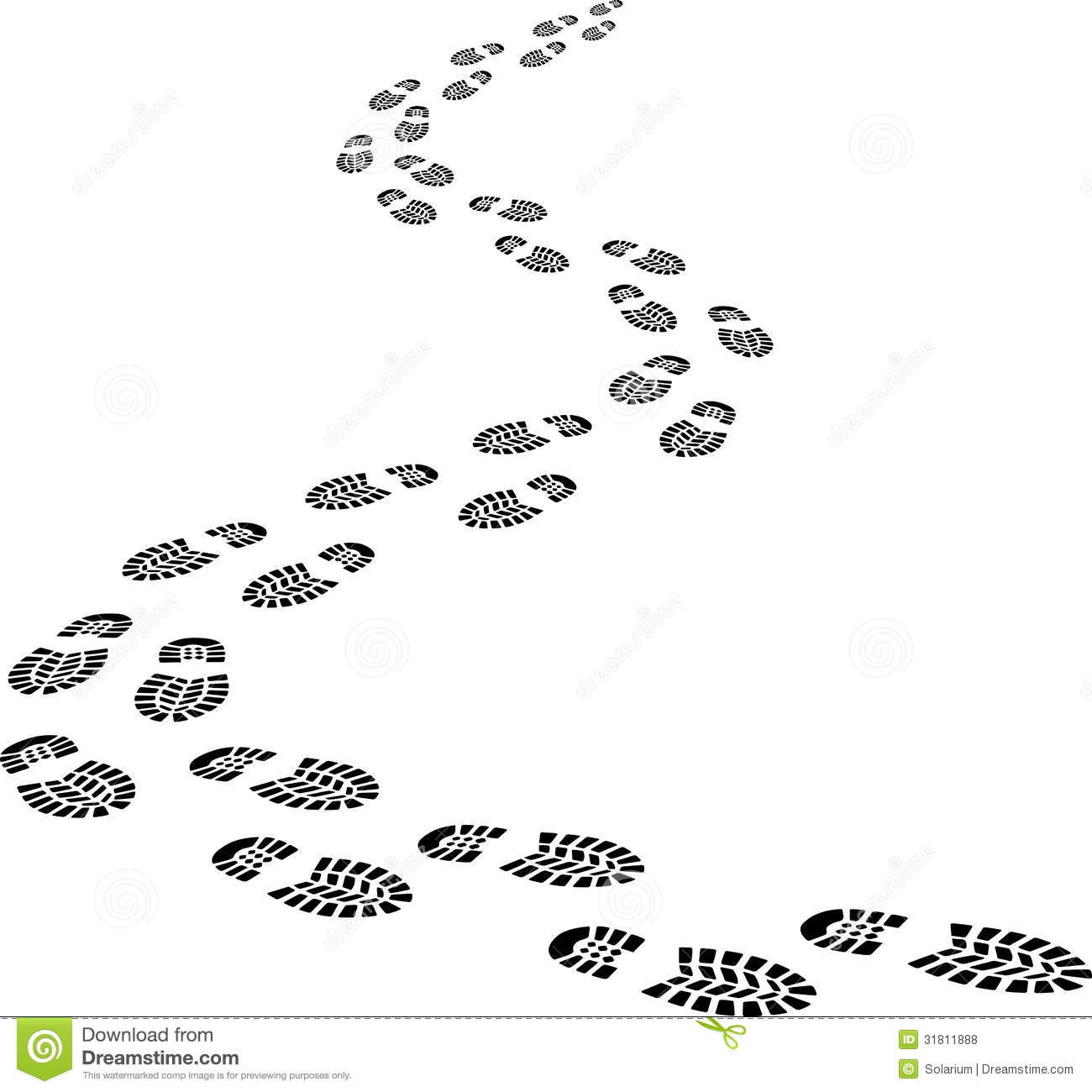 Footprint clipart shoe sole Art Free clip printable footprints