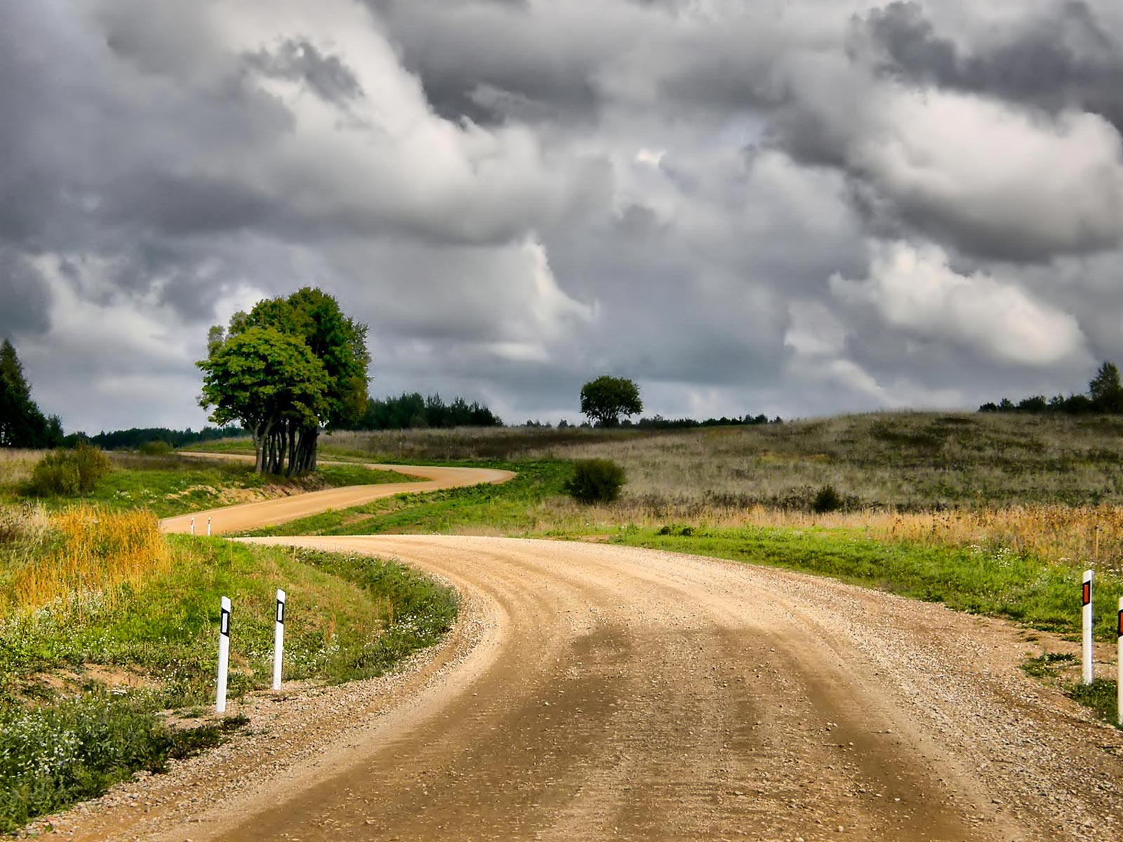Road clipart gravel road #3
