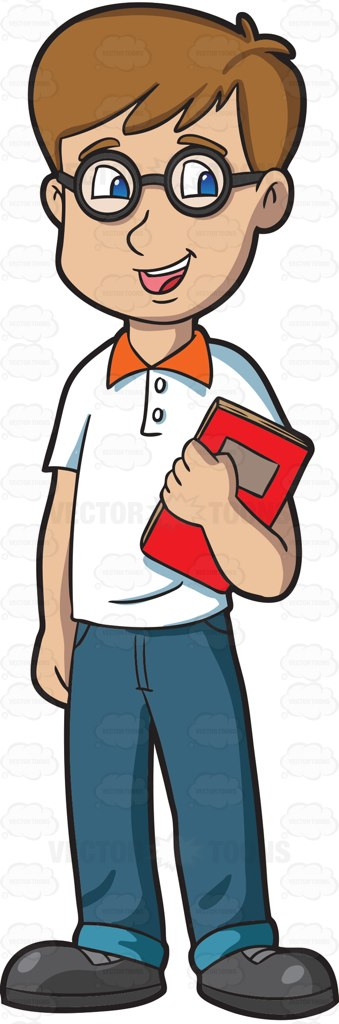 Pathway clipart high school student Cartoon Male A Clipart School