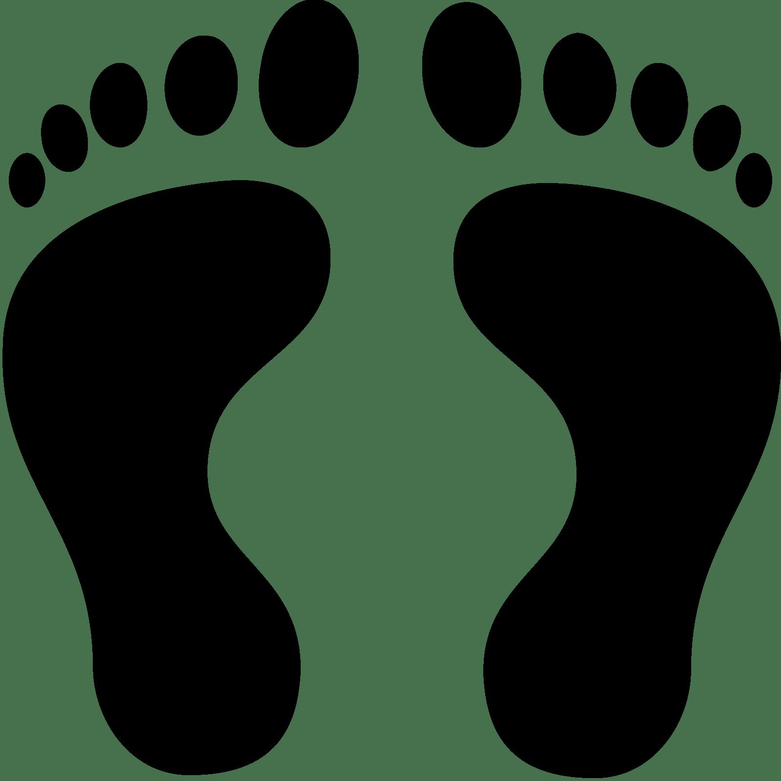 Path clipart human footprint Human SVG Footprints Icon Download