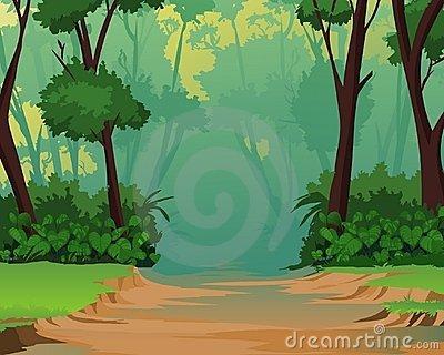 Path clipart jungle Jungle scene Jungle Background Clipart