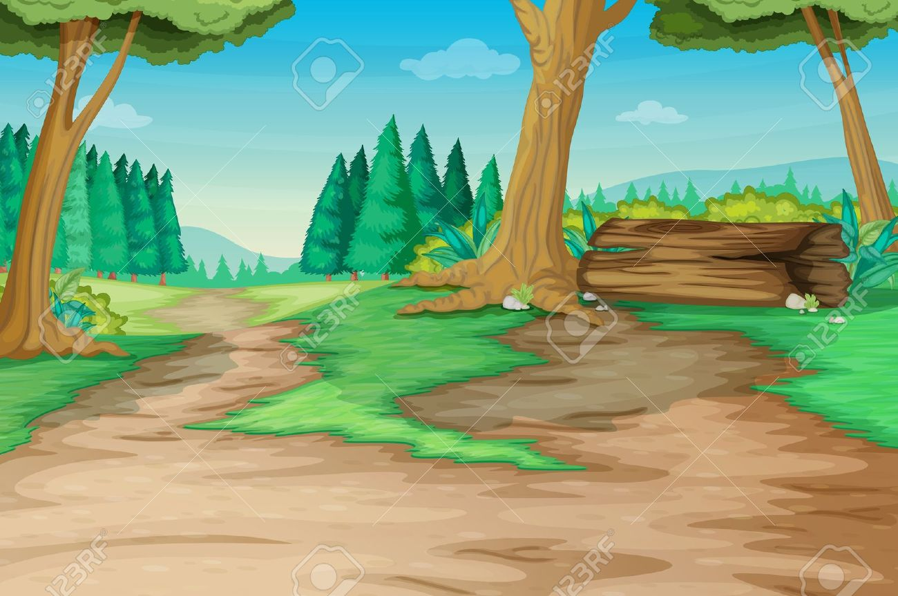 Path clipart jungle Forest path Cliparts Zone Cliparts