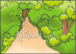 Path clipart jungle Path Jungle the Through Free