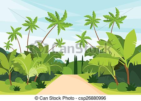 Path clipart jungle Path Jungle of with
