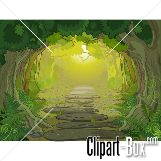 Path clipart jungle #11