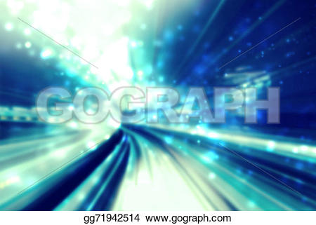 Pathway clipart lane Clipart Drawing Drawing Blue tunnel
