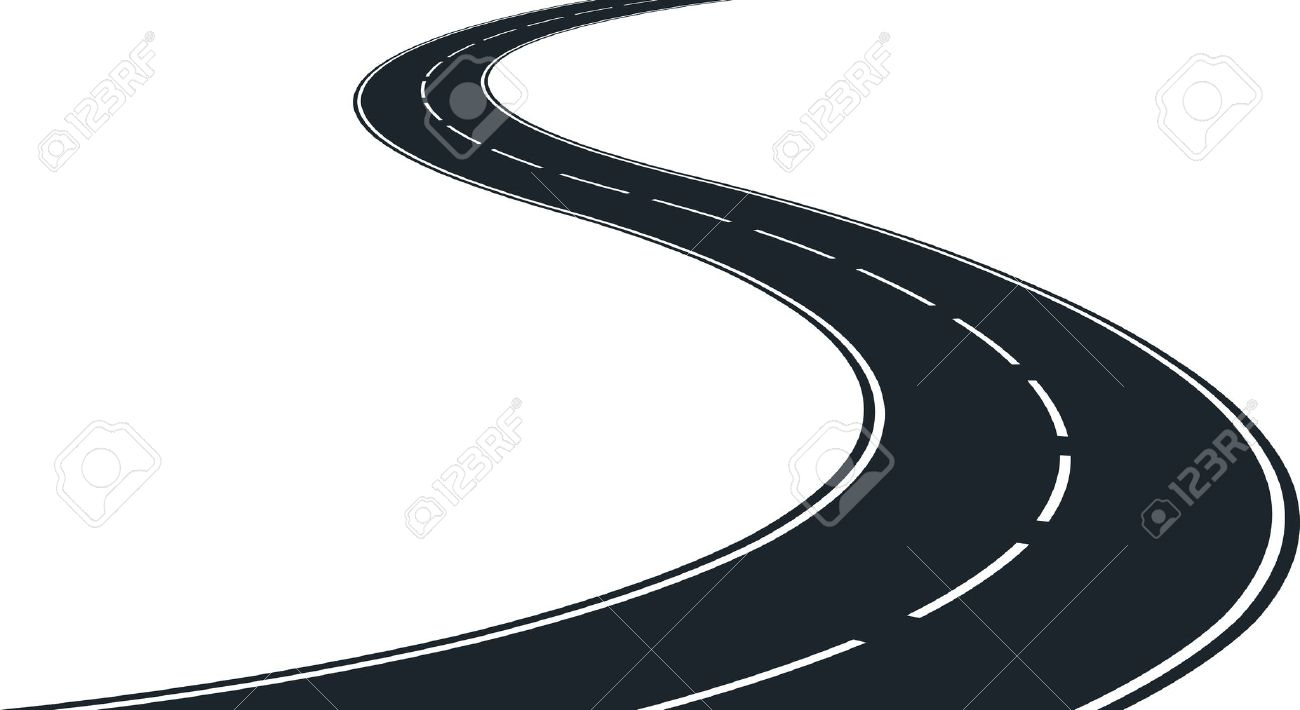 Highway clipart road track #1