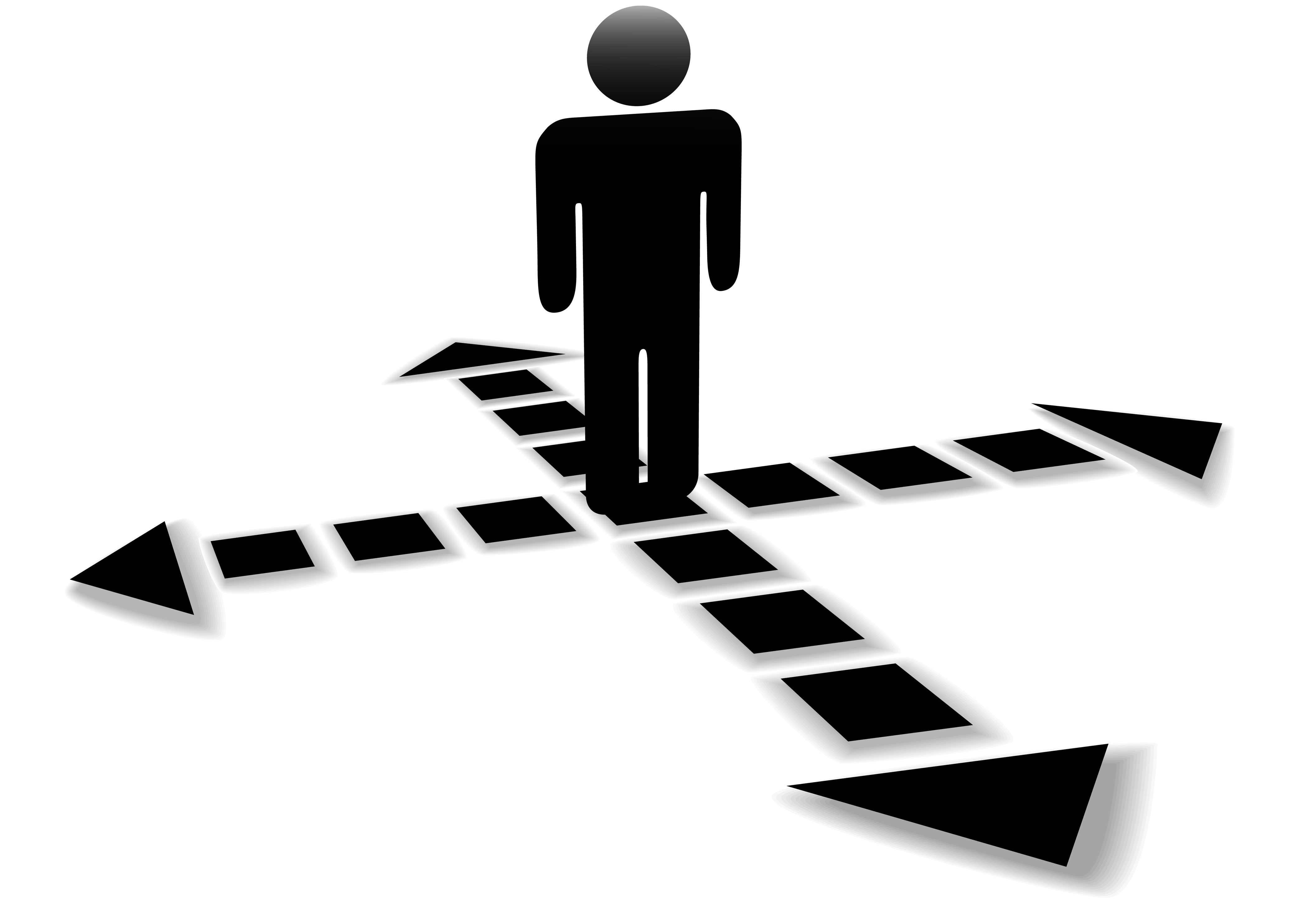 Pathway clipart multiple path Found multiple right have I