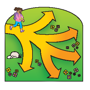 Pathway clipart multiple path Branched ABOUT on path UNIVERSAL