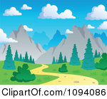 Pathway clipart nature trail Path Download Clipart Clipart Mountain