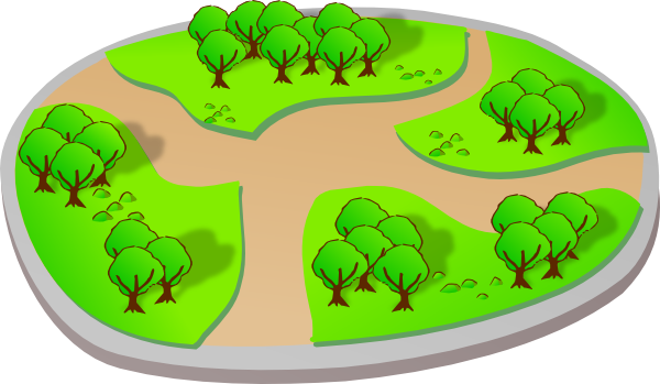 Pathway clipart nature trail Com Trail For Clipart Clipart
