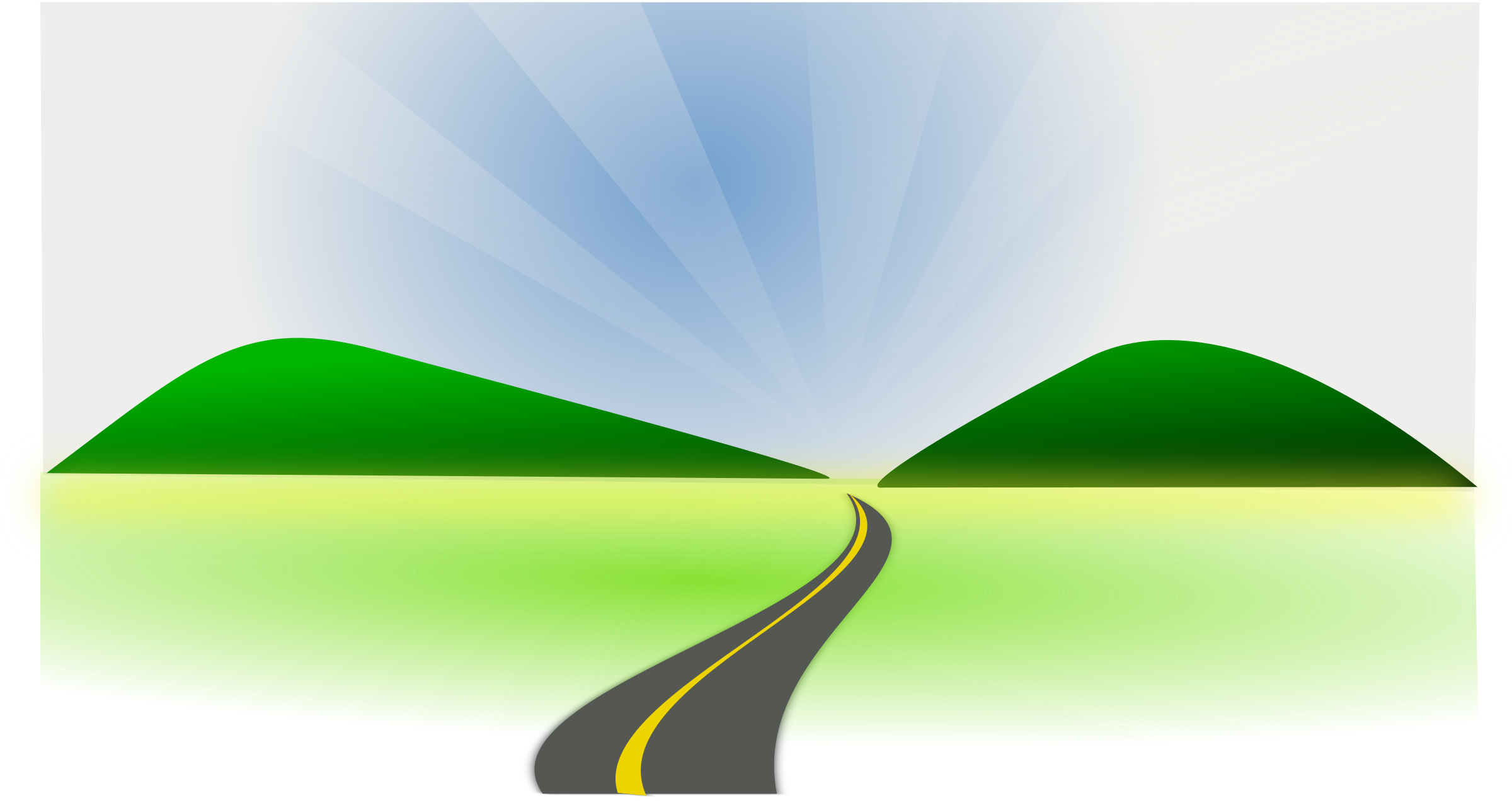 Highway clipart open road Clipart Clipart Clipartwork Road Clipart