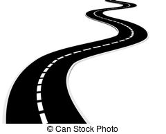 Highway clipart distance #7