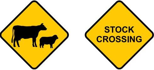 Pathway clipart road ahead Traffic Road rules & signs