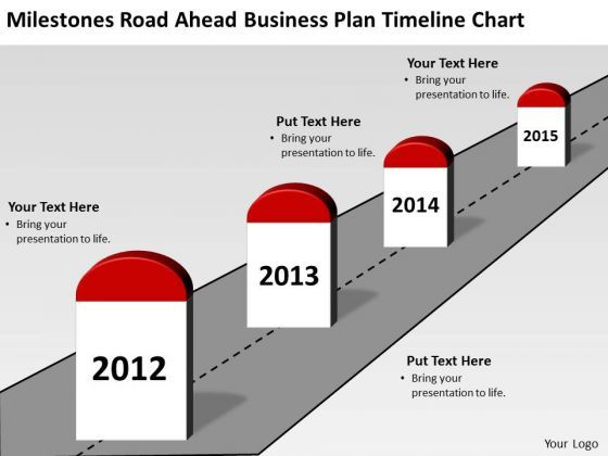 Pathway clipart road milestone Business Templates Ahead Ahead planning
