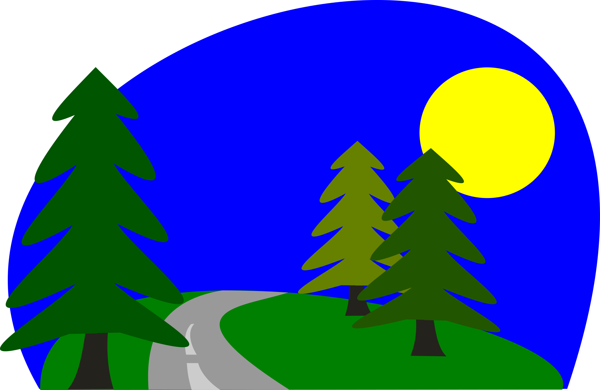 Pathway clipart road scene Clipartwork Clipart Road Free (3333)