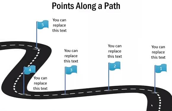 Pathway clipart roadmap Roadmap 3D Download Clipart on