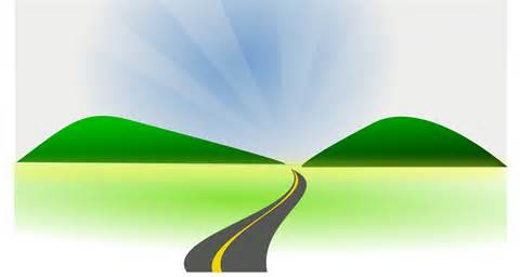 Pathway clipart roadway On Free Art Road Clip