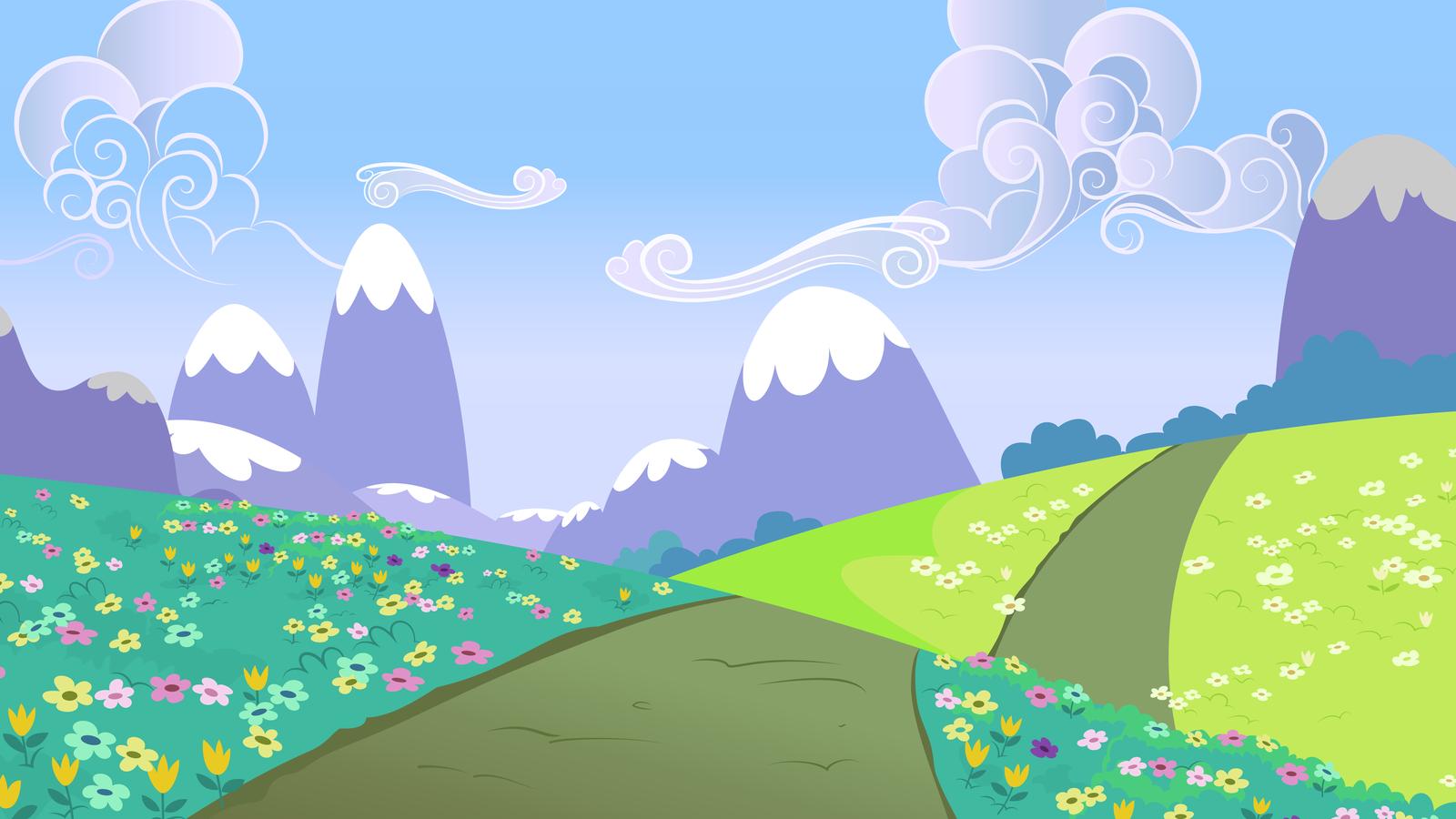 Drawn hill rolling hills Crystal Resources DeviantArt Path Hills