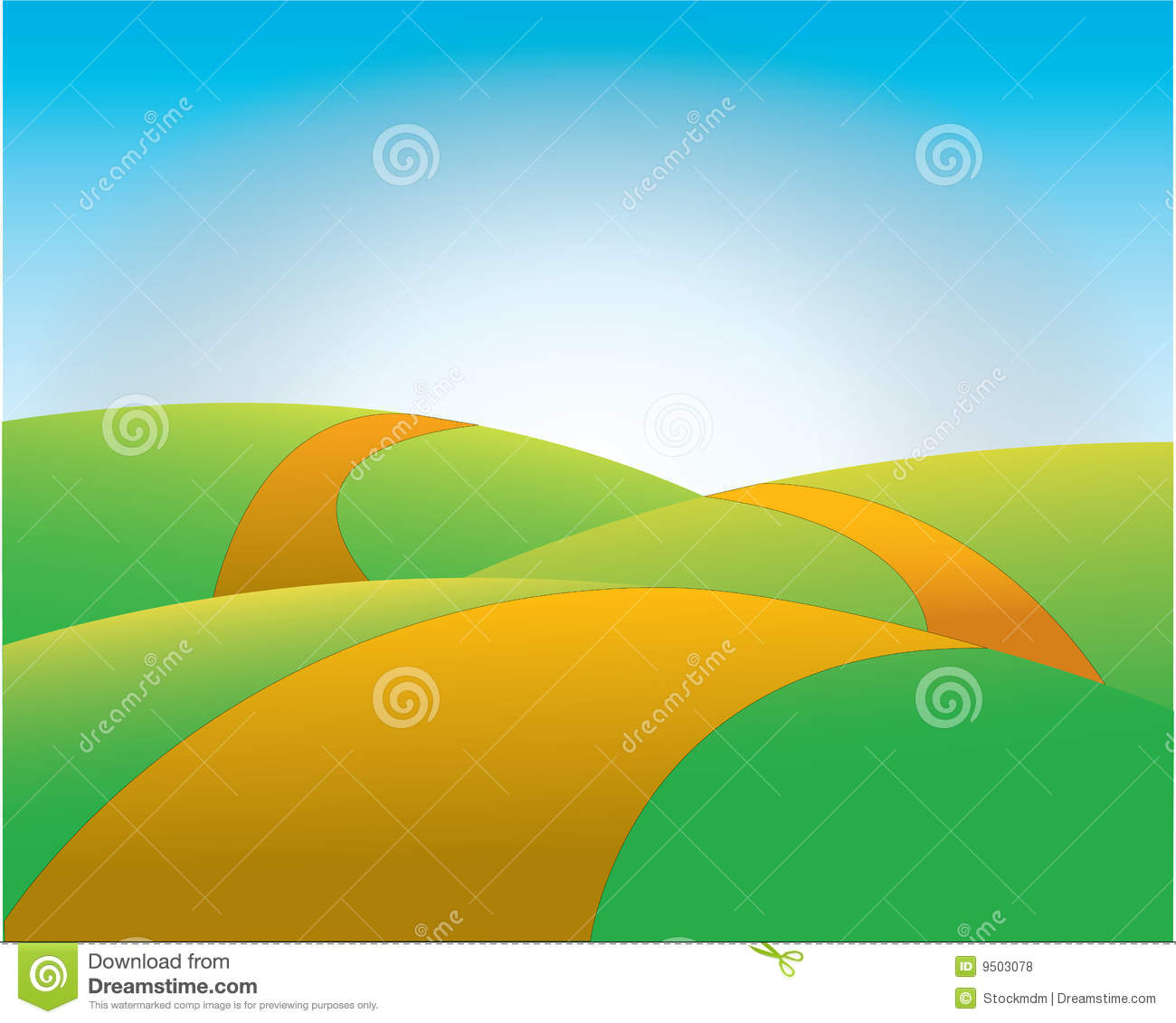 Pathway clipart background Hill road clipart hill Clipground