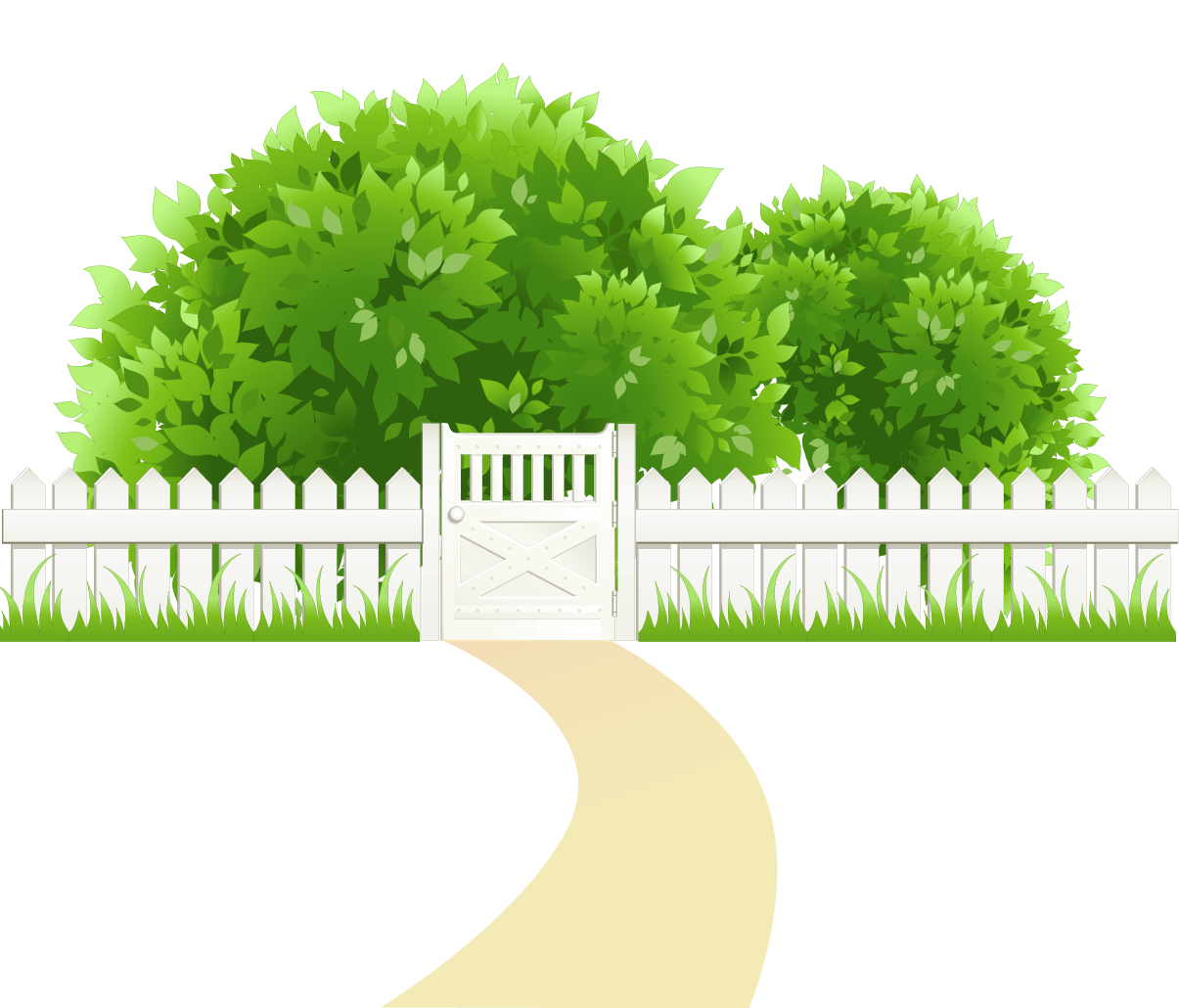 See clipart tree grass Size with PNG Path and