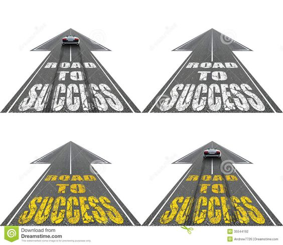 Pathway clipart success Road Variants Four Pathway Success