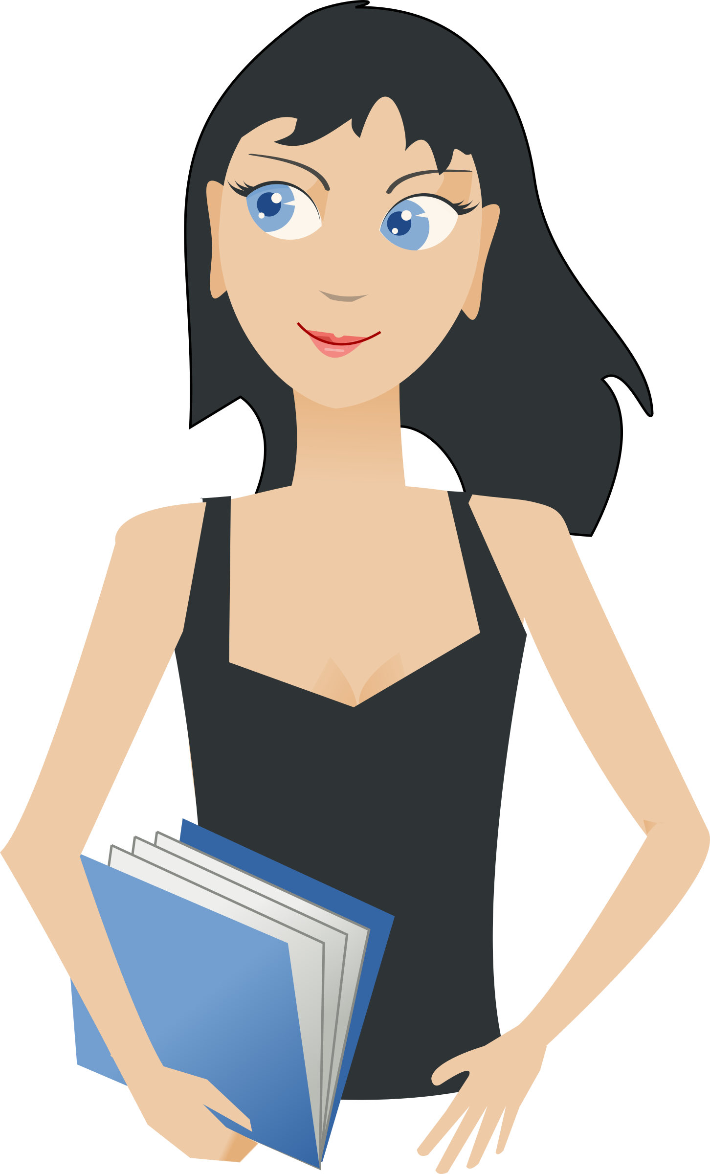 Pathway clipart university student Student Clipart with girl Clipart