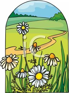Pathway clipart winding trail Path Clipart and Image: Winding