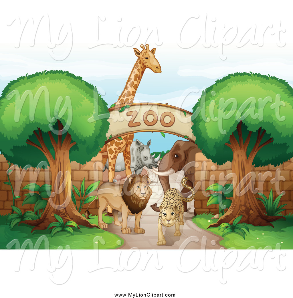 Pathway clipart zoo Lion Animal 2 Free and