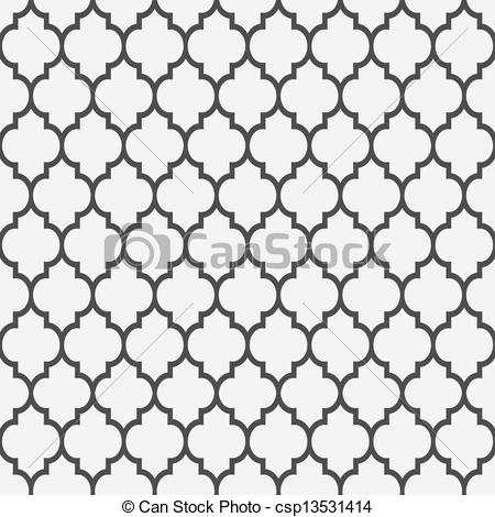 Pattern clipart Islamic  Clip Seamless Vector