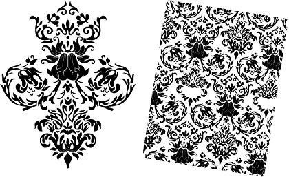 Pattern clipart baroque Clipart Download Art – Baroque