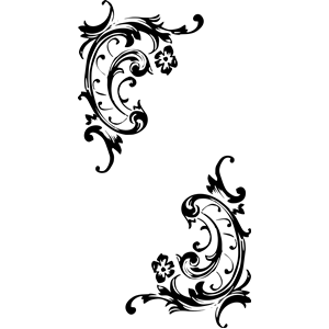 Pattern clipart baroque Cliparts (wmf eps free clipart