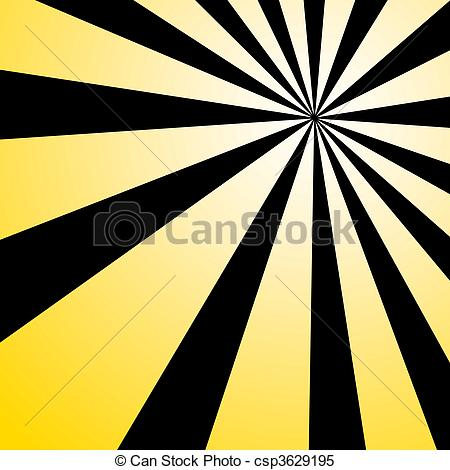 Pattern clipart burst Illustration Stock Yellow Illustrations and