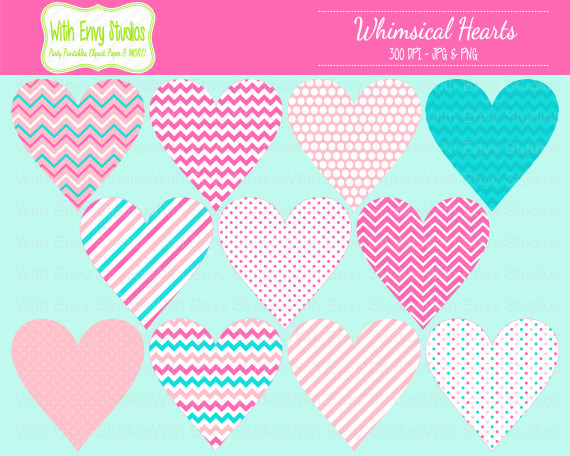 Pattern clipart heart Items Clipart similar to Digital