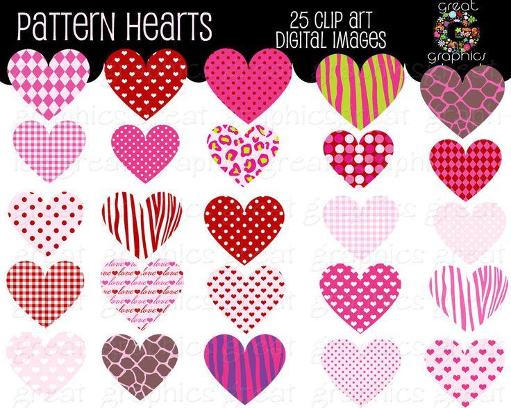 Pattern clipart heart Art Valentine Clipart Heart Art