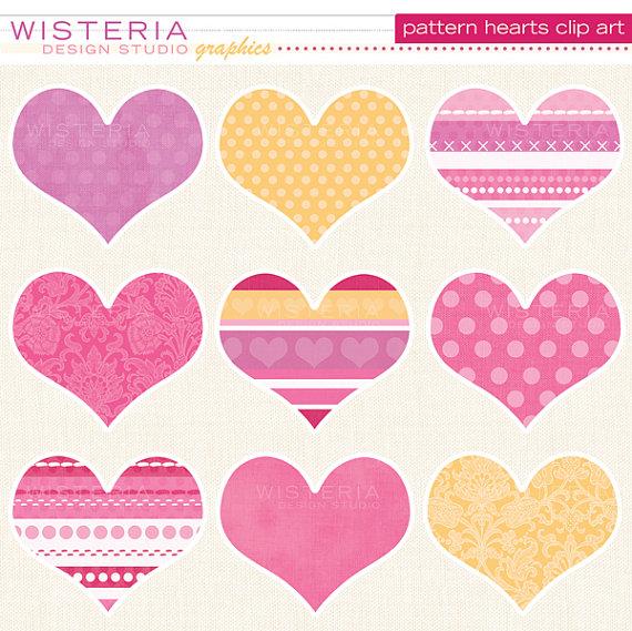 Pattern clipart heart Clipart heart clip art (58+)