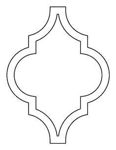 Window clipart moroccan Creating de Use Moroccan outline