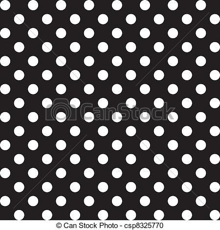 Pattern clipart polka dot Polka of Large white Clipart