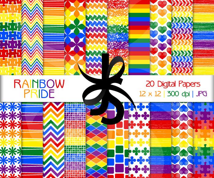Pattern clipart rainbow Art Papers Rainbow Pride Rainbow