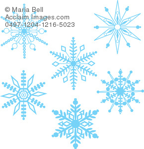 Winter clipart transparent background Background Winter Snowflakes Clip Illustration