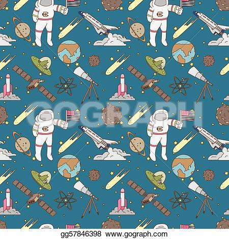 Pattern clipart space Illustration Vector Stock Vector pattern