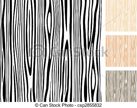 Pattern clipart wood Editable Vector Wood csp2855832 Illustration